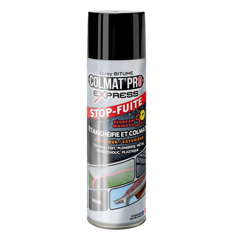 Spray bitume Colmat'Pro Express 300ml